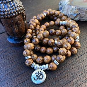 Jewelry - 🆕🆕🆕✨NATURAL SANDALWOOD MALA NECKLACE 8mm✨